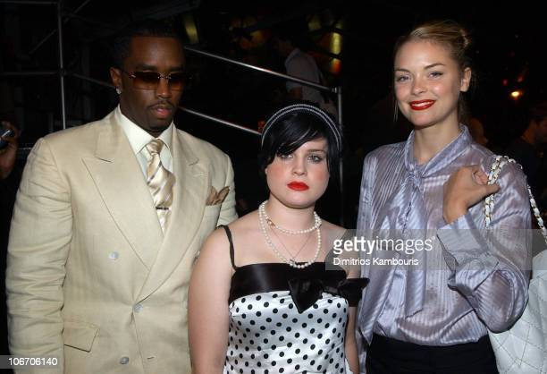 Sean 'P Diddy' Combs Kelly Osbourne and Jaime King