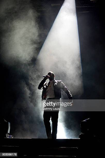 Sean 'P Diddy' Combs perfoms at Pitbull's New Years Eve Revolution 2016 at Bayfront Park Amphitheater on December 31 2015 in Miami Florida
