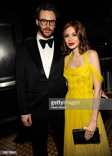 Sean Parker and Alexandra Lenas attend Clive Davis And The Recording Academy's 2012 PreGRAMMY Gala And Salute To Industry Icons Honoring Richard...