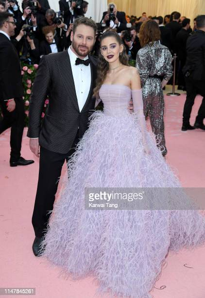 Sean Parker and Alexandra Lenas Parker arrive for the 2019 Met Gala celebrating Camp Notes on Fashion at The Metropolitan Museum of Art on May 06...