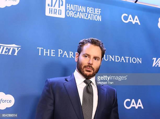 Sean Parker arrives at the 5th Annual Sean Penn Friends 'HELP HAITI HOME' gala benefiting J/P Haitian Relief Organization held at Montage Hotel on...