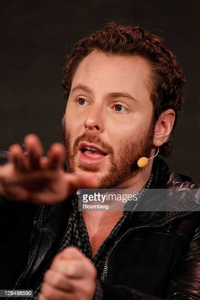 Sean Parker cofounder of Napster Inc and managing partner of the Founders Fund speaks at the Web 20 Summit in San Francisco California US on Monday...