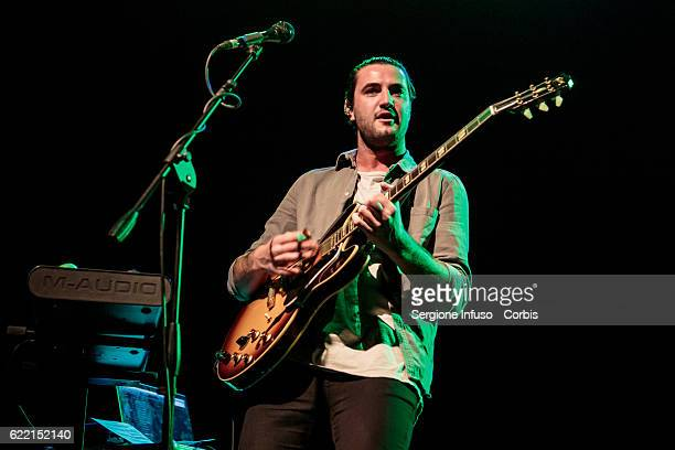 Sean Parkin of English Indie Pop band Alvarez Kings opens the concerto of American singer and songwriter Melanie Adele Martinez performs on November...