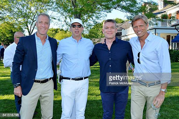 Sean Patrick Maloney Guest Bill Rudin and Randy Florke attend The Sixteenth Annual Midsummer Night Drinks Benefiting God's Love We Deliver at Private...