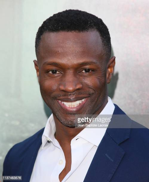 Sean Patrick Thomas attends the premiere of Warner Bros' 'The Curse Of La Llorona' at the Egyptian Theatre on April 15 2019 in Hollywood California