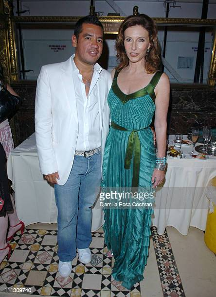 Sean Patterson and Mary Steenburgen during The Winners of the 6th Annual More Magazine Wilhelmina 40 Model Search at Cipriani in New York City New...