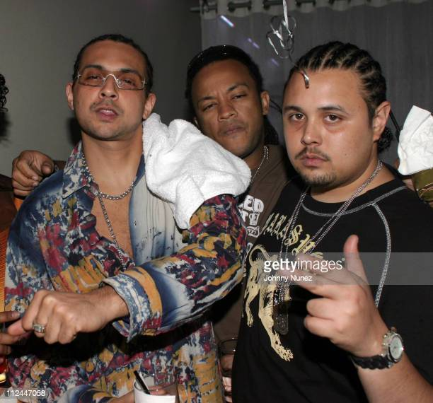 Sean Paul and Jason Enriquez during House Of Courvoisier Presents Phat Classics Miami Party at Bed in Miami Florida United States
