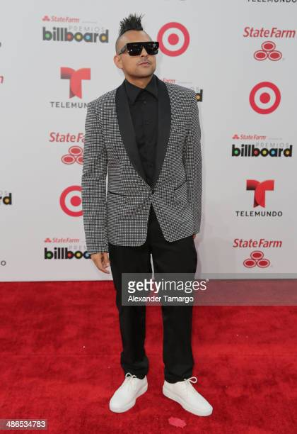 Sean Paul arrives at the 2014 Billboard Latin Music Awards at Bank United Center on April 24 2014 in Miami Florida