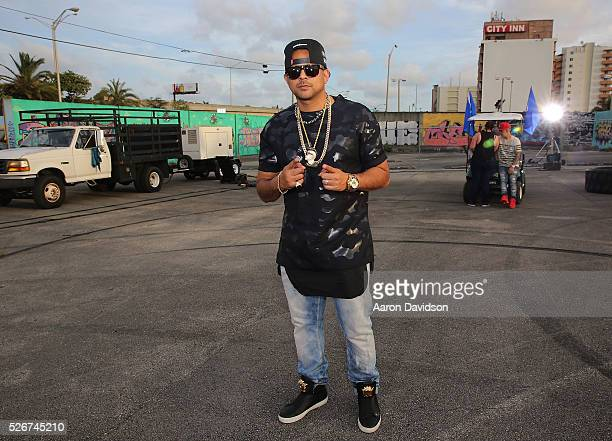Sean Paul attends Borgeous and Sean Paul 'Ride It' video shoot on April 30 2016 in Miami Florida