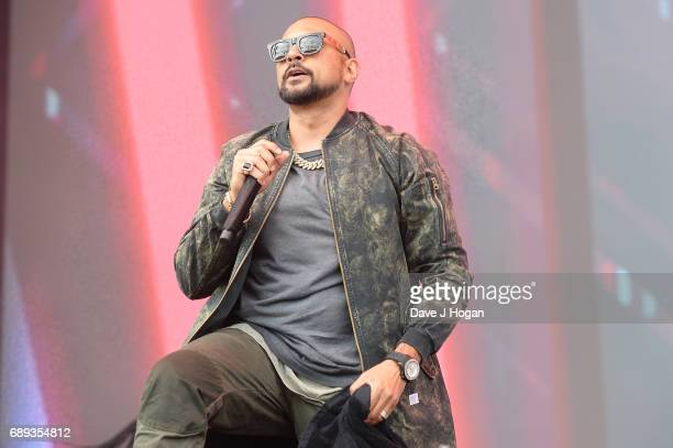 Sean Paul attends Day 2 of BBC Radio 1's Big Weekend 2017 at Burton Constable Hall on May 28 2017 in Hull United Kingdom