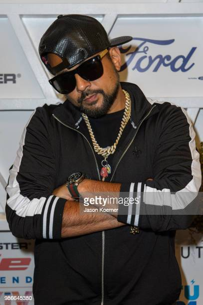 Sean Paul attends Give From the Heart #InspIRIE at the Fountainbleau Miami Beach during Irie Weekend 2018 on June 28 2018 in Miami Florida