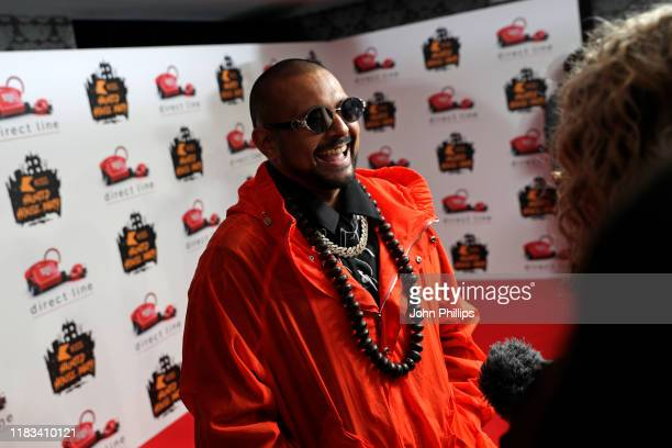 Sean Paul attends the KISS Haunted House Party 2019 at The SSE Arena Wembley on October 25 2019 in London England