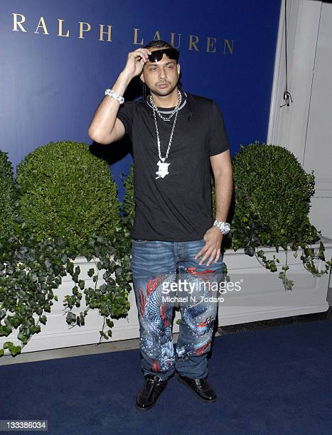 Sean Paul attends the Lebron James Family Foundation Benefit for an evening of cocktails and private shopping at the Ralph Lauren Mansion on...