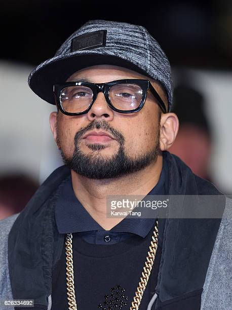 Sean Paul attends the World Premiere of 'I Am Bolt' at Odeon Leicester Square on November 28 2016 in London England