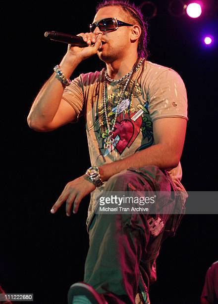 Sean Paul during 2006 San Diego Street Scene Day 2 at Qualcomm Stadium in San Diego California United States
