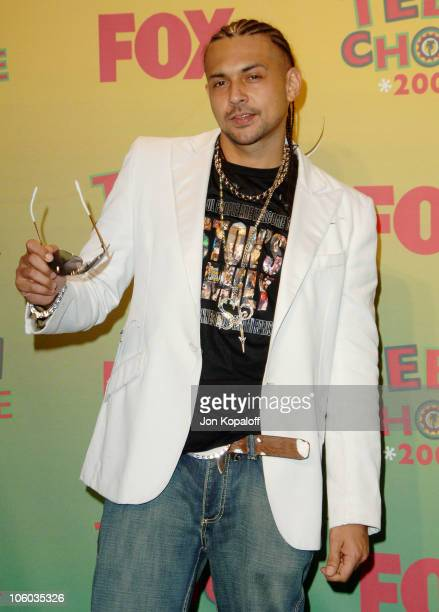 Sean Paul during 2006 Teen Choice Awards Press Room at Gibson Amphitheatre in Universal City California United States