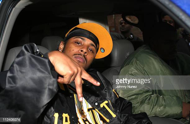 Sean Paul during Bone Crusher Remix Video Shoot Featuring Busta Rhymes Camron Juelz Santana and Jadakiss at Broadway Warehouse in New York City New...