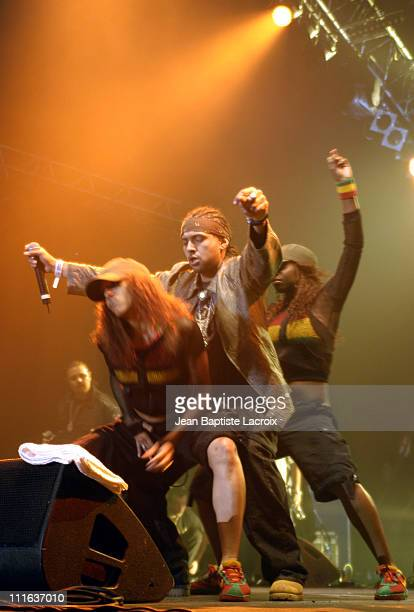 Sean Paul during Garance Reggae Festival 2003 Paris at Bercy in Paris France