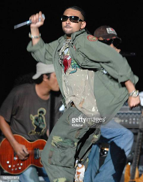 Sean Paul during Mariah Carey The Adventures of Mimi Tour at Madison Square Garden in New York August 23 2006 at Madison Square Garden in New York...