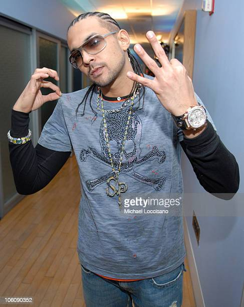 Sean Paul during Mary J Blige and Sean Paul Visit MTV's TRL March 20 2006 at MTV Studios Times Square in New York City New York United States