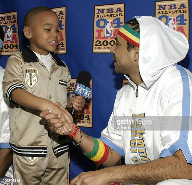 Sean Paul during NBA AllStar Celebrity Game at Los Angeles Convention Center in Los Angeles California United States