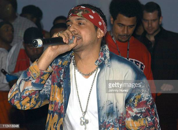 Sean Paul during Sean Paul Platinum Party at Powder in New York City New York United States