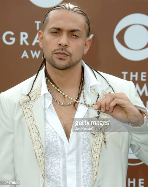 Sean Paul during The 48th Annual GRAMMY Awards Arrivals at Staples Center in Los Angeles California United States