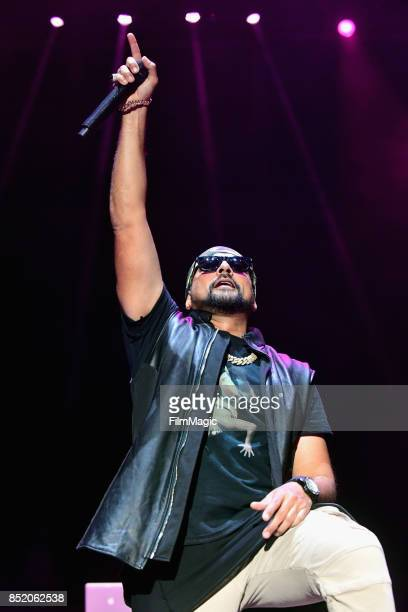 Sean Paul performs on Ambassador Stage during day 1 of the 2017 Life Is Beautiful Festival on September 22 2017 in Las Vegas Nevada