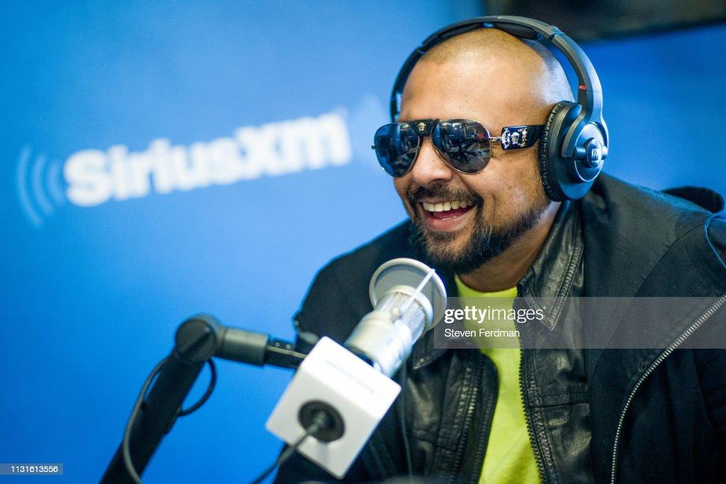 NY: Celebrities Visit SiriusXM - March 19, 2019