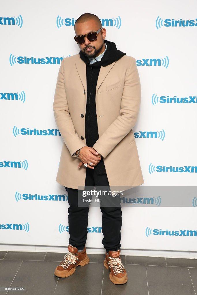 Sean Paul visits the SiriusXM Studios on October 23, 2018 in
