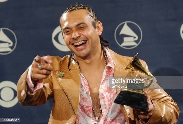 Sean Paul winner of Best Reggae Album during The 46th Annual Grammy Awards Press Room at Staples Center in Los Angeles California United States
