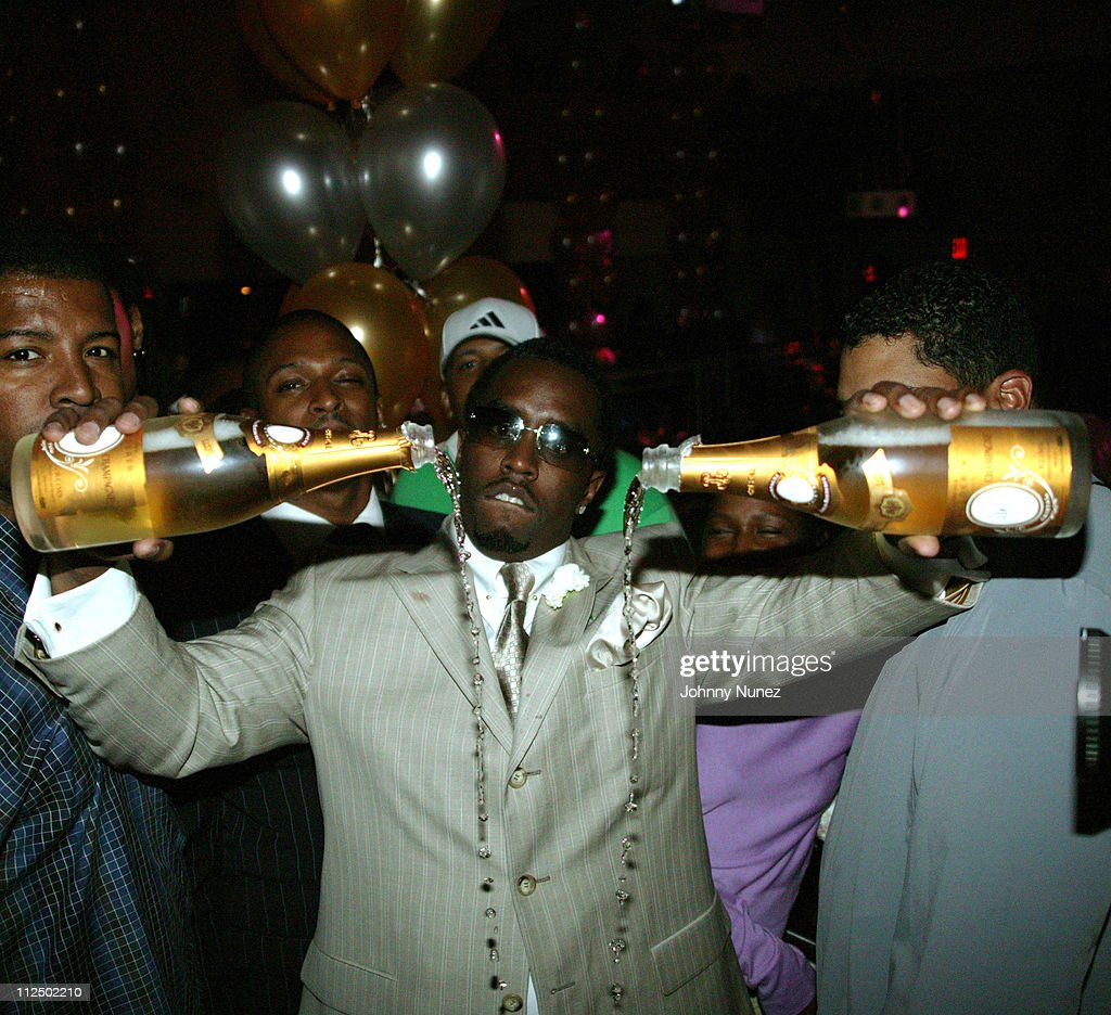 champagne p diddy