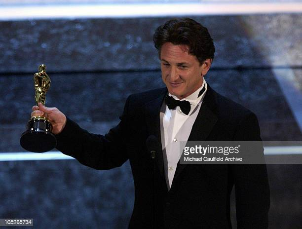 Sean Penn acceptance speech for Best Actor Award during The 76th Annual Academy Awards - Show at The Kodak Theater in Hollywood, California, United...