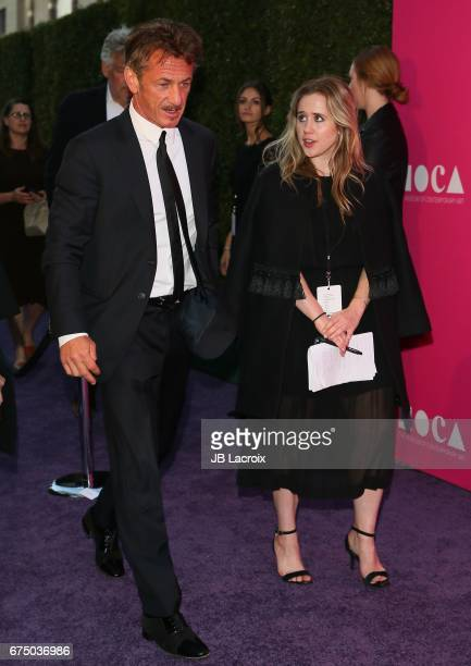 Sean Penn and Julia Rossen attend the MOCA Gala 2017 on April 29 2017 in Los Angeles California