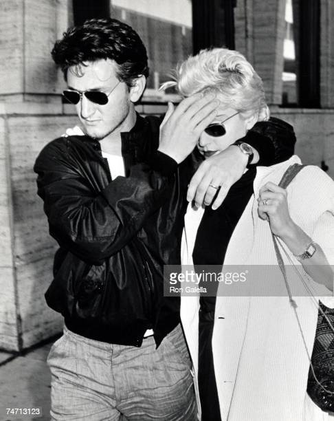 Sean Penn and Madonna at the Lincoln Center in New York City, New York