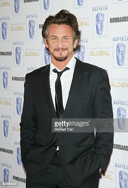Sean Penn arrives to the 17th Annual BAFTA Los Angeles Britannia Awards held at the Hyatt Regency Century City Plaza Hotel on November 6, 2008 in Los...