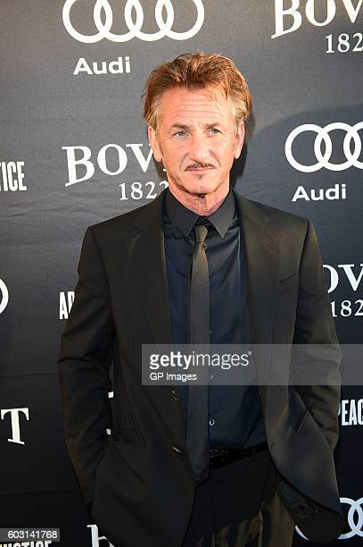 Sean Penn attend The Artists For Peace and Justice Gala at Casa Loma on September 11 2016 in Toronto Canada