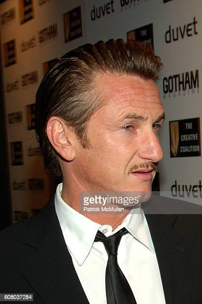Sean Penn attends Creative Coalition's 2006 Spotlight Awards and Christopher Reeve First Amendment Awards Gala Presented by GOTHAM Magazine at Duvet...