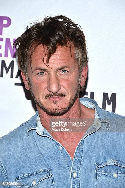 Sean Penn attends Film Independent at LACMA hosts an evening with Sean Penn at LACMA on October 6 2016 in Los Angeles California