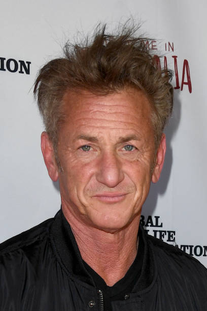 Sean Penn attends Meet Me In Australia To Benefit Australia Wildfire Relief Efforts hosted by The Greater Los Angeles Zoo Association at Los Angeles...