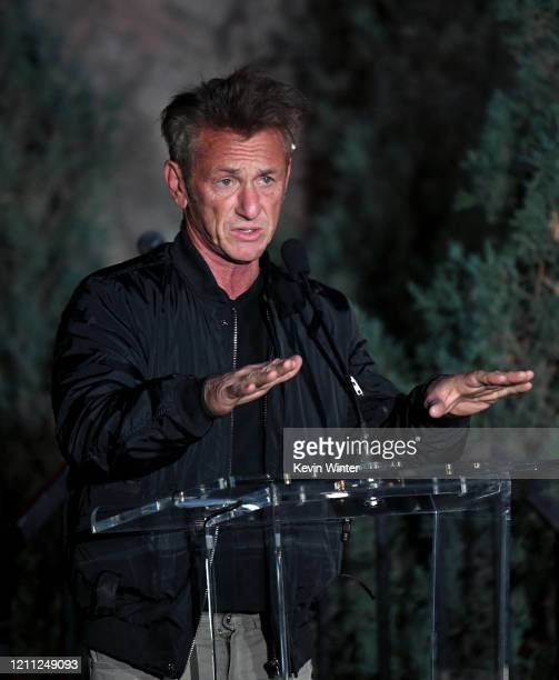 """Sean Penn attends """"Meet Me In Australia"""" To Benefit Australia Wildfire Relief Efforts, hosted by The Greater Los Angeles Zoo Association, at Los..."""