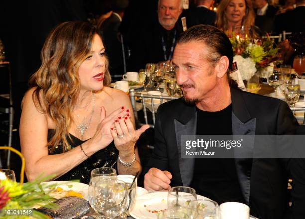 Sean Penn attends MusiCares Person Of The Year Honoring Bruce Springsteen at Los Angeles Convention Center on February 8, 2013 in Los Angeles,...