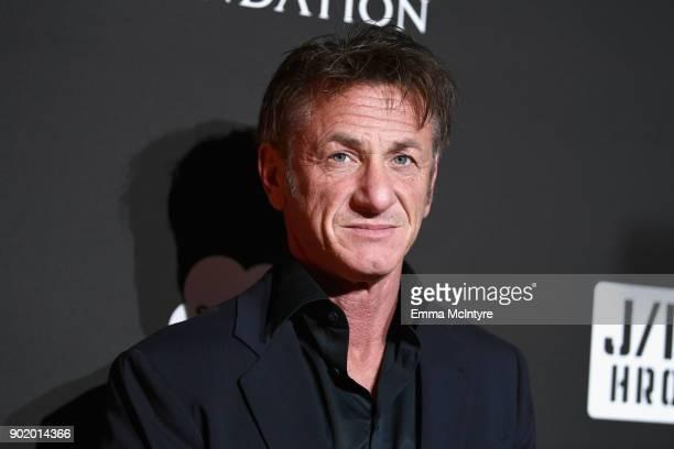 Sean Penn attends the 7th Annual Sean Penn & Friends HAITI RISING Gala benefiting J/P Haitian Relief Organization on January 6, 2018 in Hollywood,...
