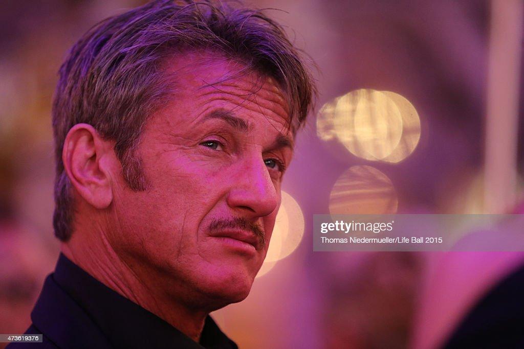 Sean Penn attends the AIDS Solidarity Gala at Hofburg Vienna on May 16, 2015 in Vienna, Austria.