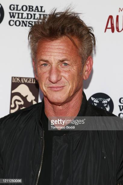 """Sean Penn attends The Greater Los Angeles Zoo Association Hosts """"Meet Me In Australia"""" To Benefit Australia Wildfire Relief Efforts at Los Angeles..."""