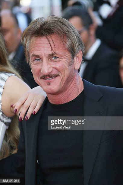 Sean Penn attends 'The Last Face' Premiere during the 69th annual Cannes Film Festival at the Palais des Festivals on May 20 2016 in Cannes France
