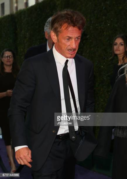 Sean Penn attends the MOCA Gala 2017 on April 29 2017 in Los Angeles California
