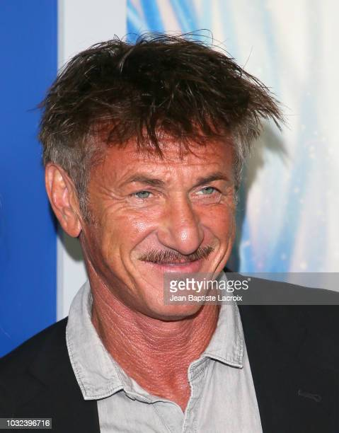"""Sean Penn attends the premiere of Hulu's """"The First"""" on September 12, 2018 in Los Angeles, California."""