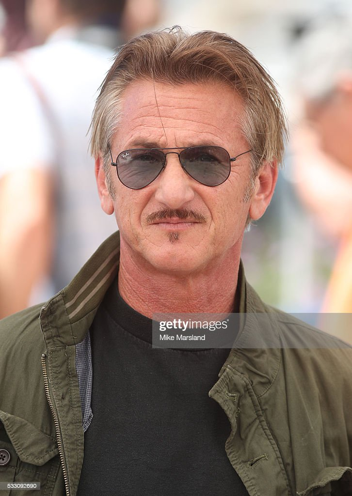 Sean Penn attends the 'The Last Face' Photocall at the annual 69th Cannes Film Festival at Palais des Festivals on May 20, 2016 in Cannes, France.