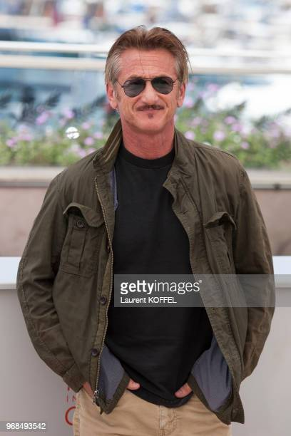 Sean Penn attends the 'The Last Face' Photocall at the annual 69th Cannes Film Festival at Palais des Festivals on May 20 2016 in Cannes France